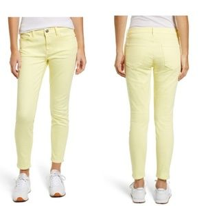 NWT Current Elliot Skinny Jeans Sz 24 Yellow